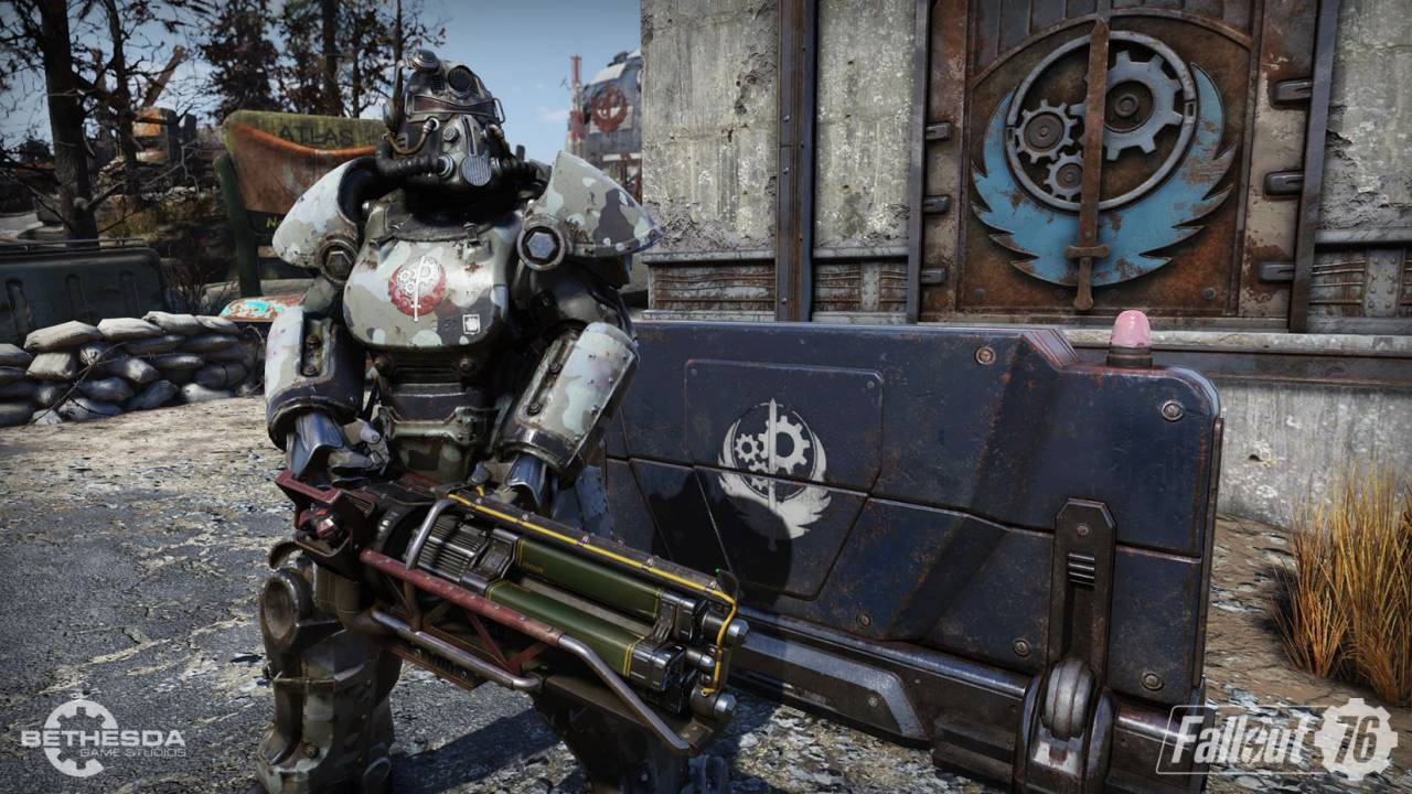 Check out the Brotherhood of Steel in this new Fallout 76 trailer