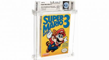 Vintage NES game Super Mario Bros 3 fetches an insane amount at auction