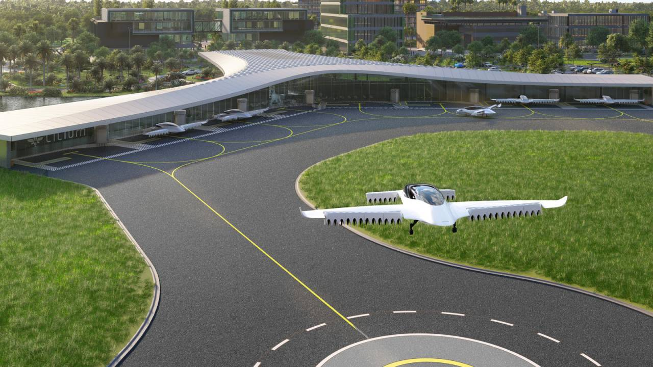 Lilium picks a hub for its all-electric flying taxi service