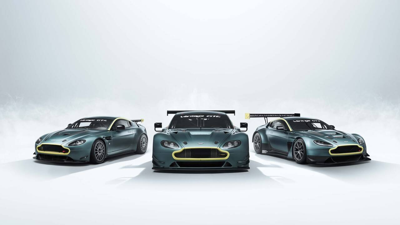 Aston Martin Racing Vantage Legacy Collection is a car collector's dream come true