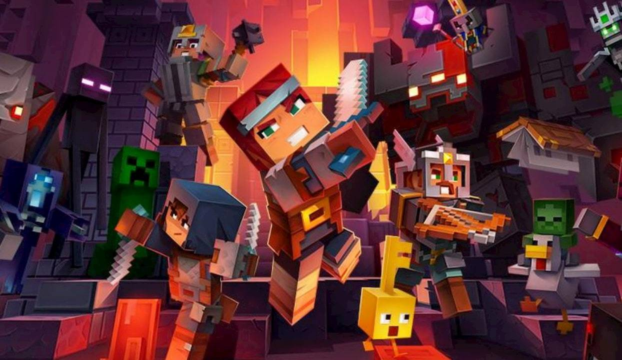 Minecraft Dungeons is getting a multiplayer surprise