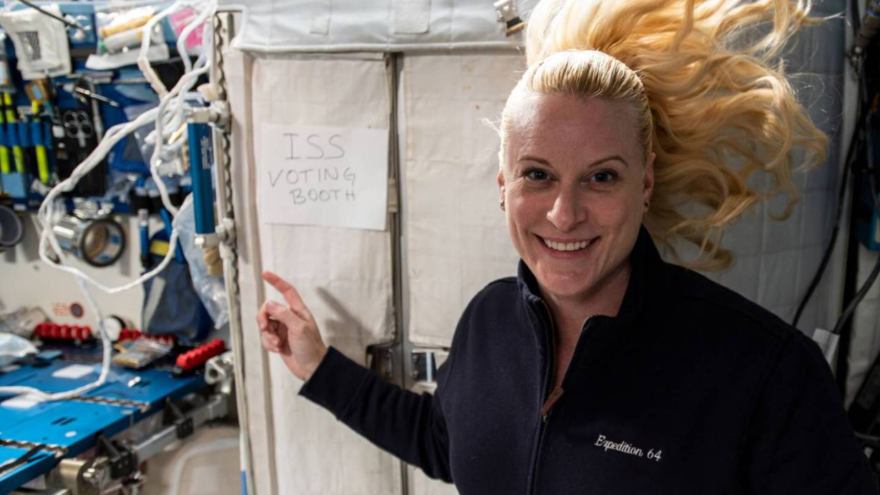 NASA explains how astronauts vote from space, shows off ISS voting booth