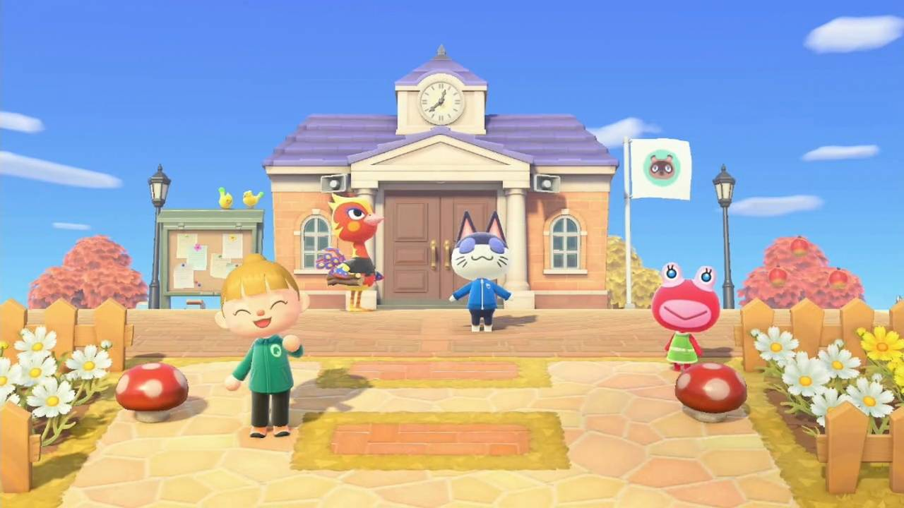 Nintendo opens up its Animal Crossing: New Horizons island to players