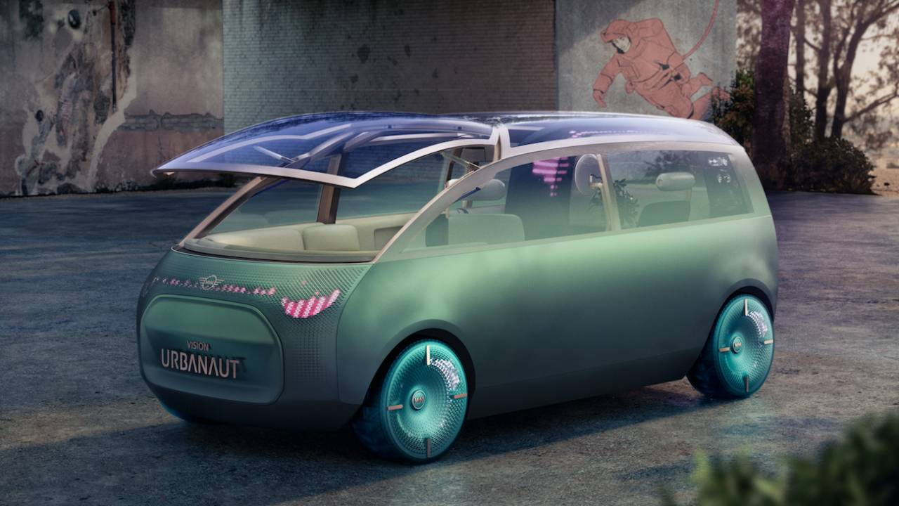MINI Vision Urbanaut previews an autonomous micro-minivan future