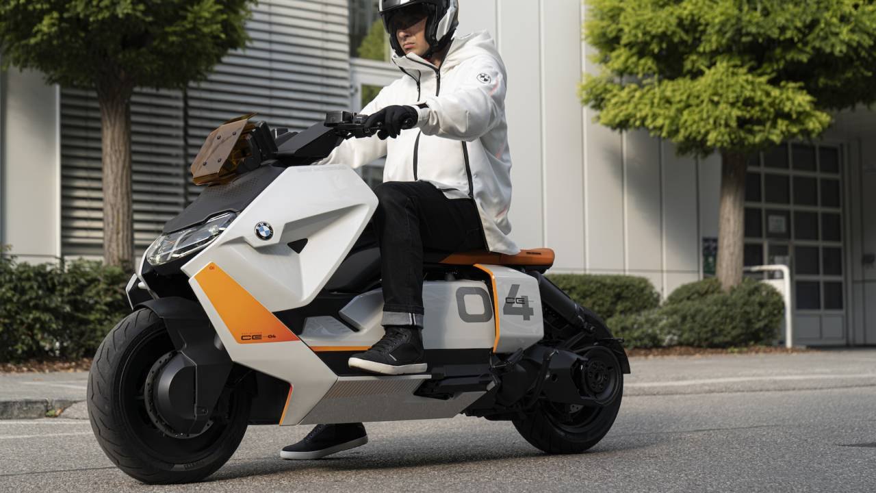 BMW Motorrad built an electric scooter fit for Akira