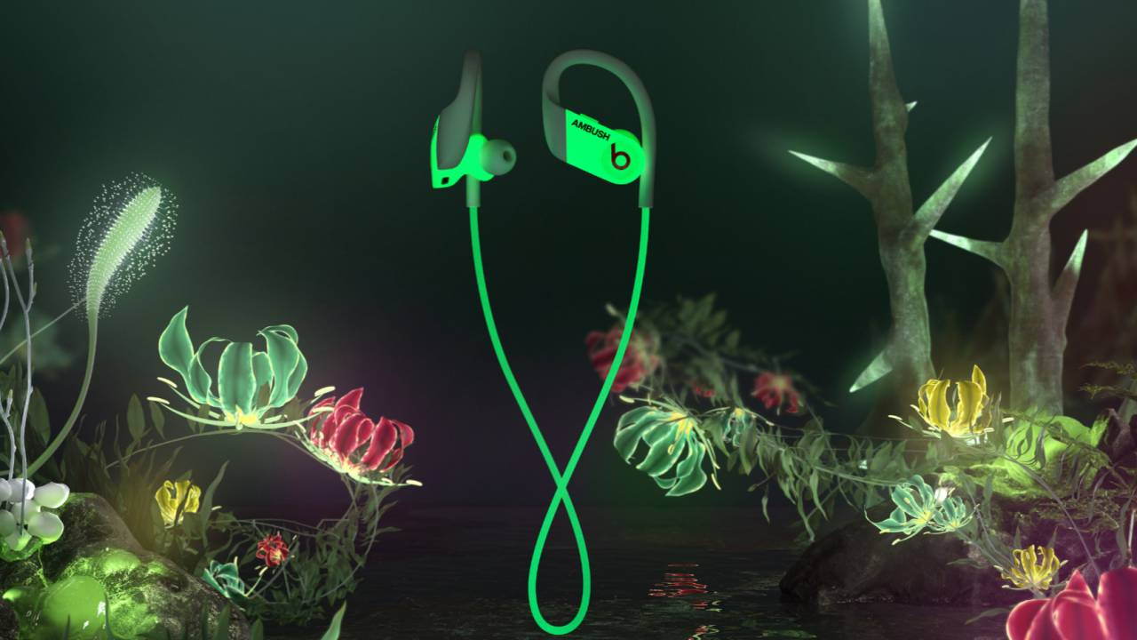 Powerbeats AMBUSH Special Edition are Beats that glow in the dark