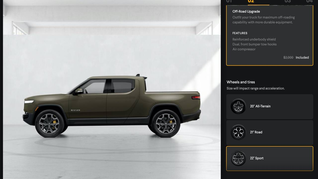 Rivian EV configurator opens to all – R1S and R1T Launch Edition sold out