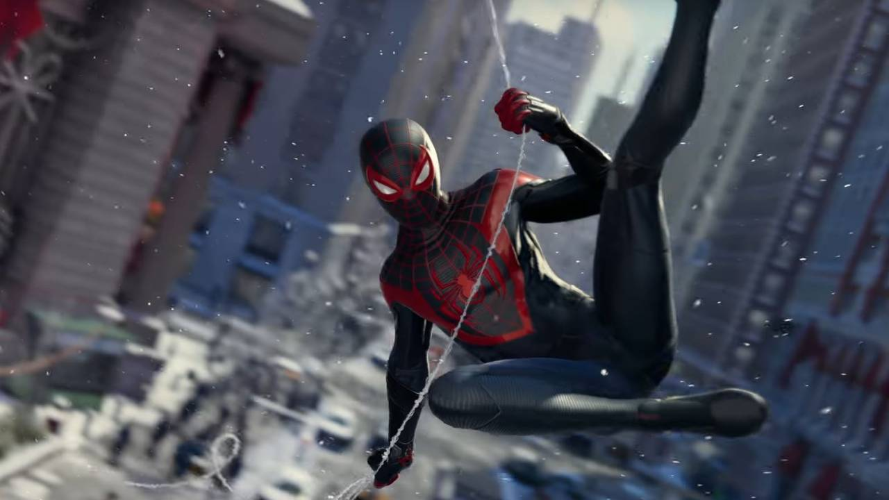 Leaked Spider-Man: Miles Morales video shows a big PS5 advantage