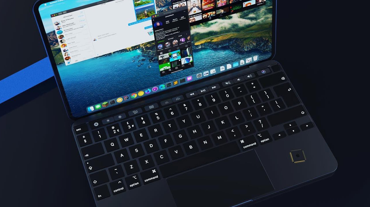 If the Apple Silicon MacBook looks like this, I need it