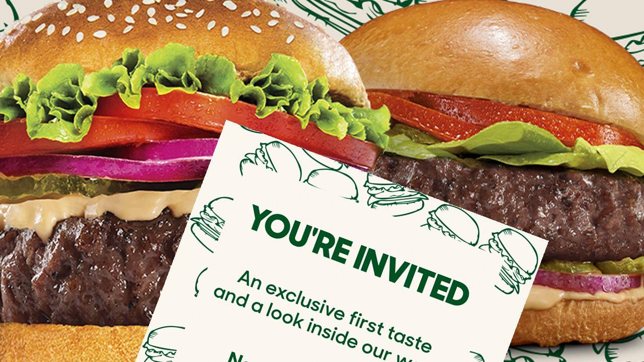 Beyond Meat just revealed 2 slightly healthier plant-based burgers