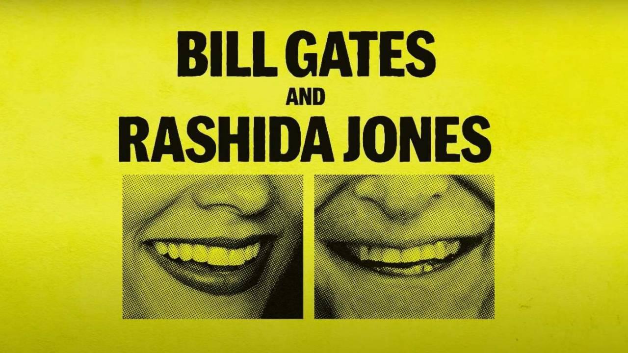 Bill Gates and Rashida Jones will launch a new podcast next week