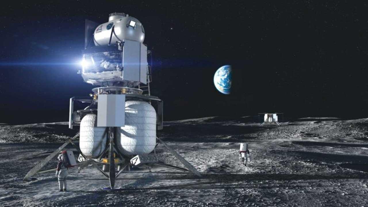 Blue Origin shares information on planned 2023  lunar cargo delivery