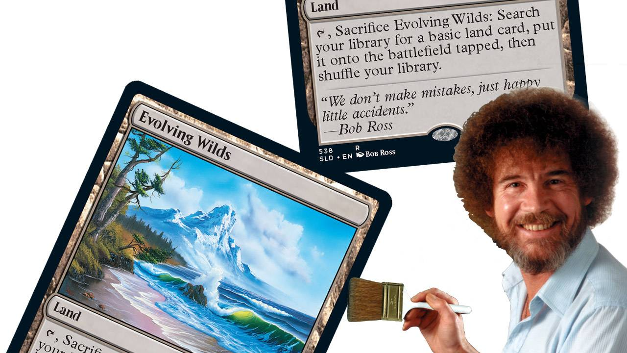 Bob Ross Magic: The Gathering cards remind us everything will be OK