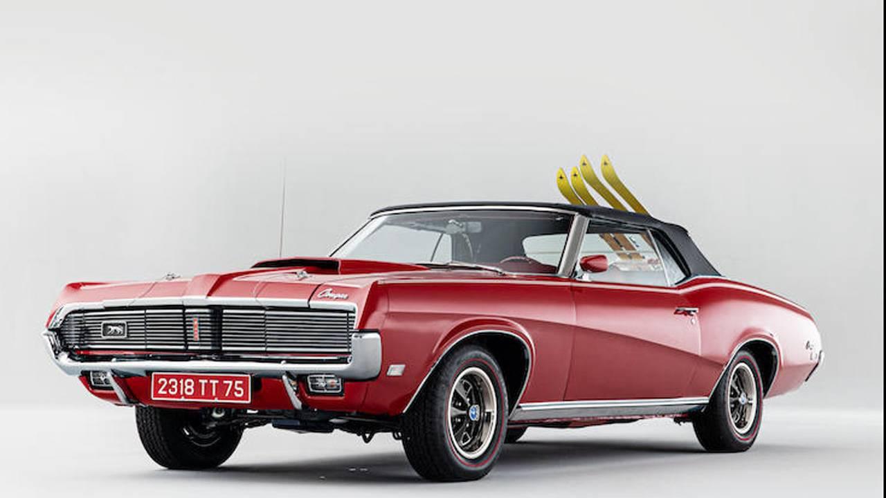 1969 Mercury James Bond car heads to auction