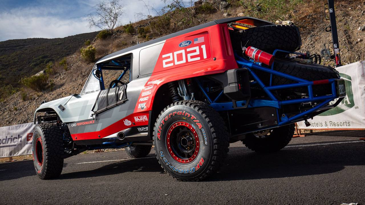 Bronco R race prototype returns to Baja