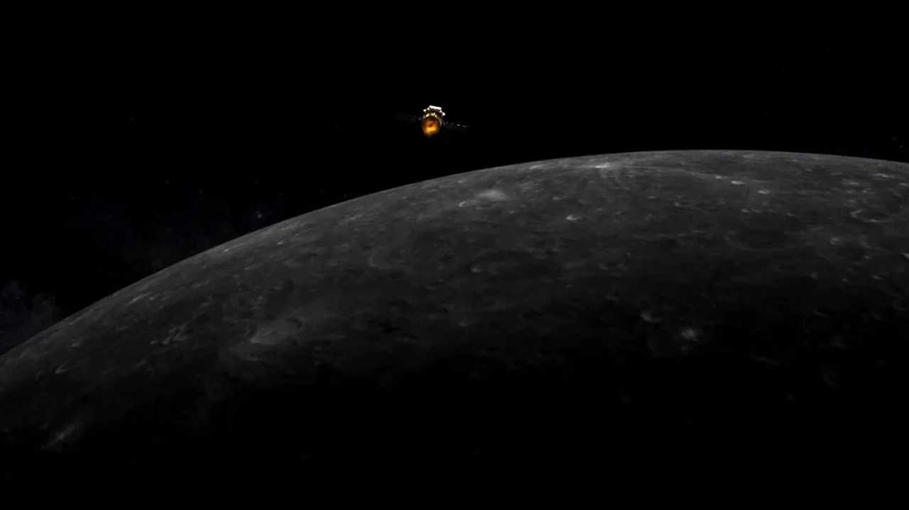 Chinese Chang'e 5 spacecraft has entered orbit around the moon