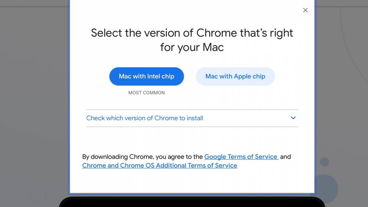 Google Chrome for Apple M1 Macs released (again)