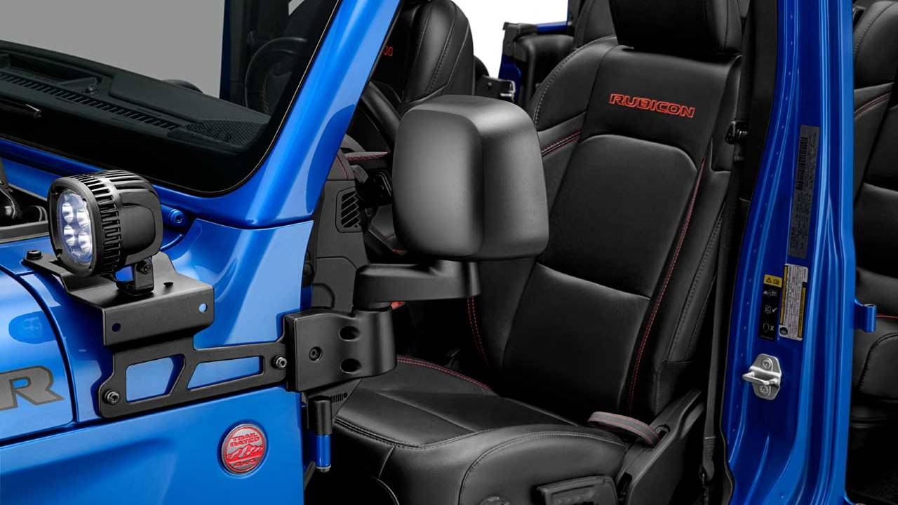 New Mopar Doors-off Mirror Kit for Jeep Wrangler and Gladiator debuts