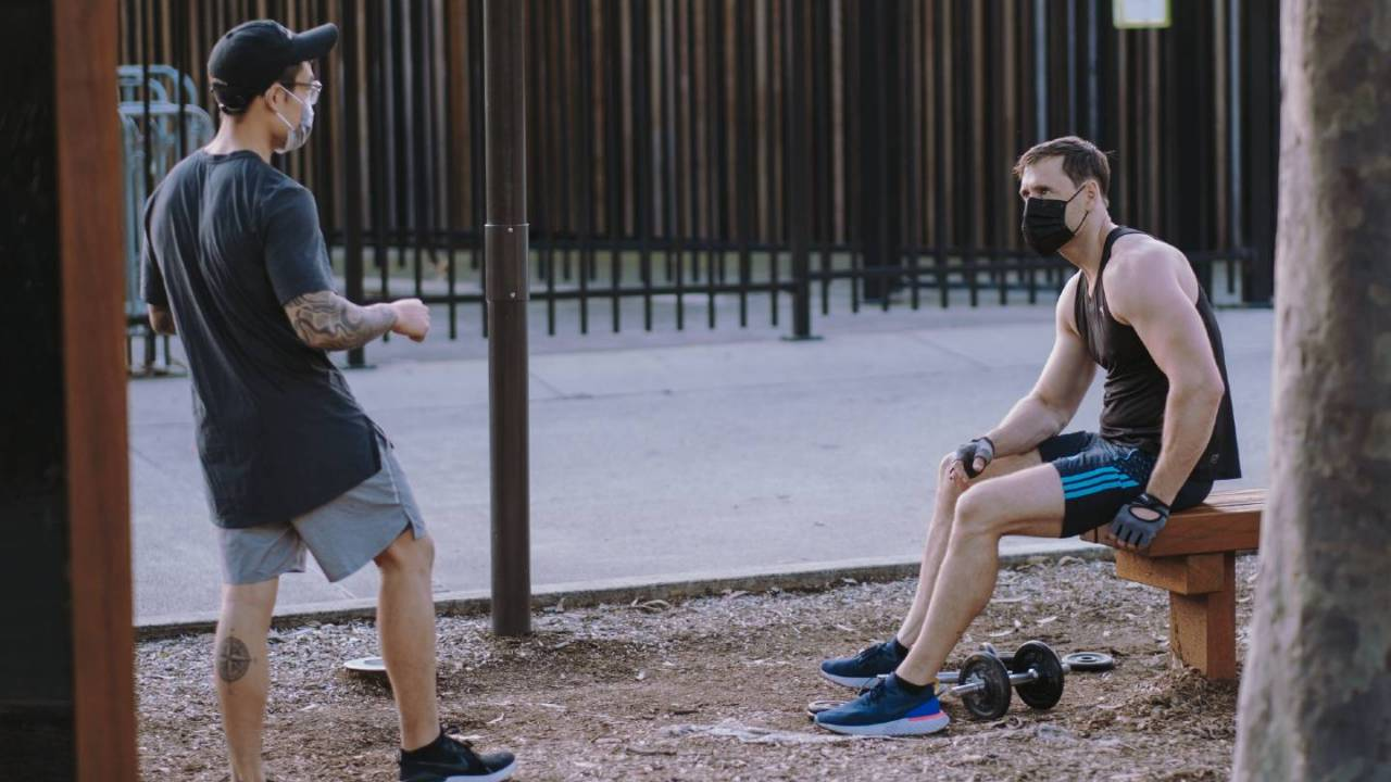 COVID-19 face mask study has good news for fitness enthusiasts