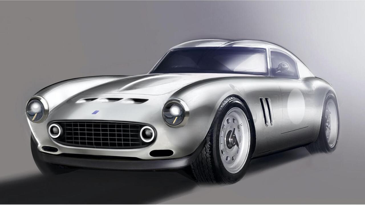 GTO Engineering Moderna breaks cover as a more affordable vintage Ferrari 250 GTO