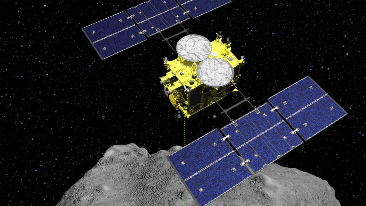 Hayabusa2 is getting close to home with its samples