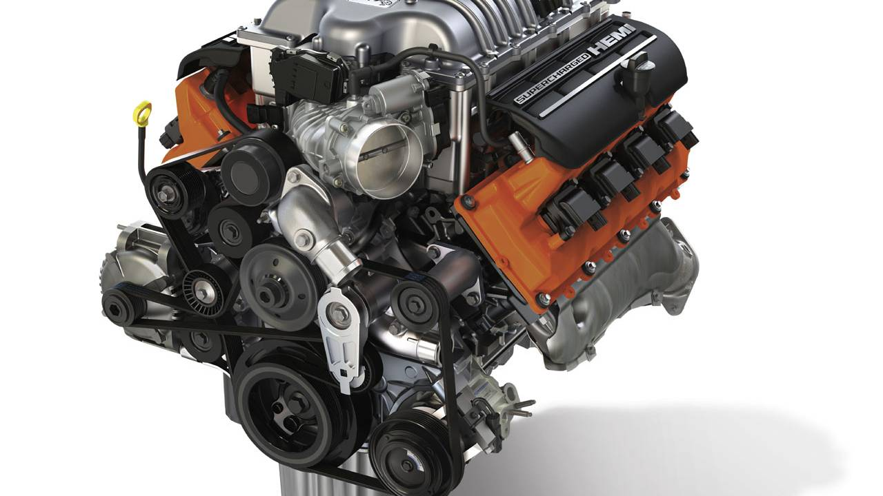 Mopar launches Hellcrate Redeye Crate Engine