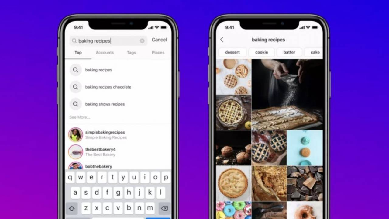 Instagram finally adds the ability to search using keywords