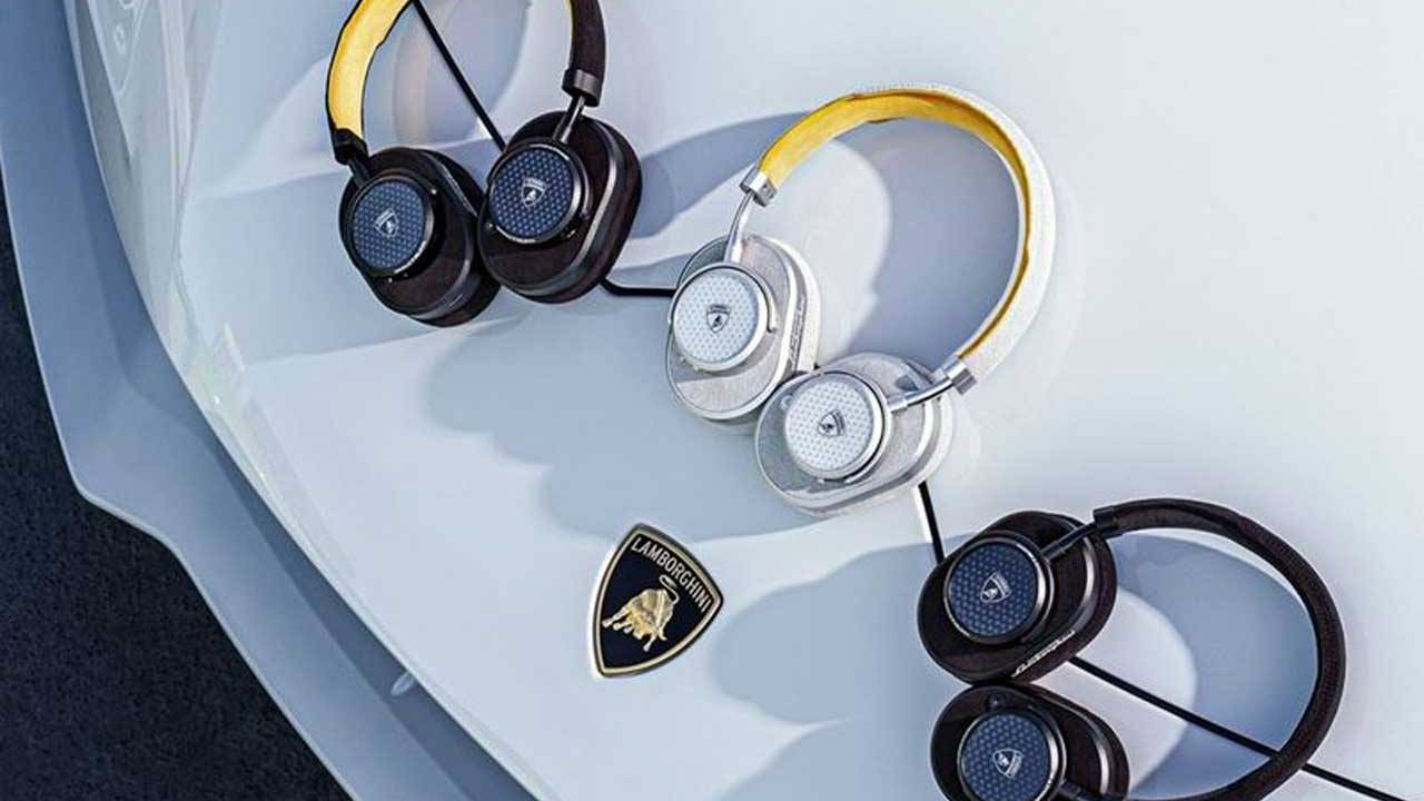 Lamborghini and Master & Dynamic team for new audio gear