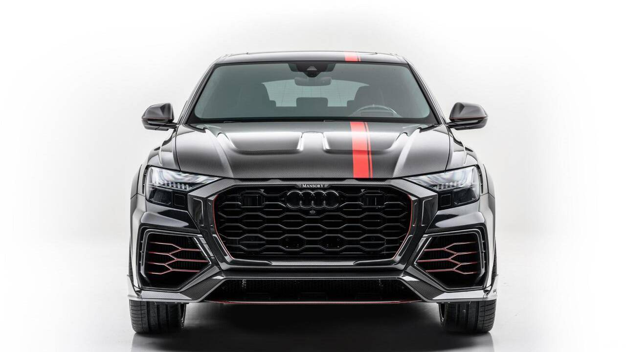 This Mansory Audi RSQ8 is ready for deployment