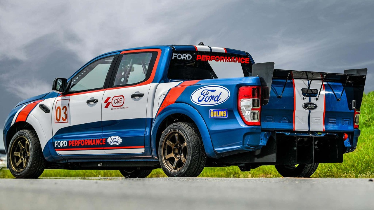 Yes, Ford Racing Thailand has built a Ranger diesel racing truck