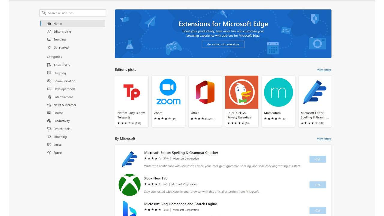 Microsoft Edge is now a victim of fraudulent add-ons as well