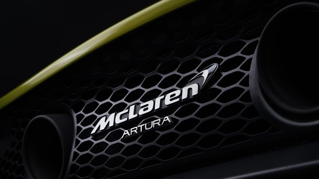 Meet Artura, McLaren's next-gen hybrid supercar