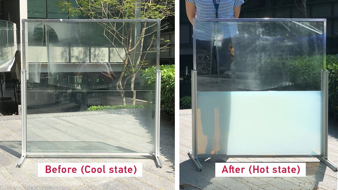 NTU Singapore researchers create a liquid window panel