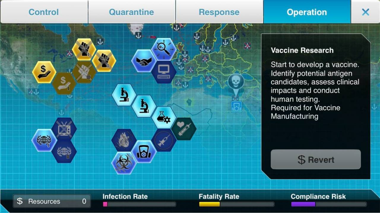 Plague Inc: The Cure free mode tasks players with stopping a pandemic