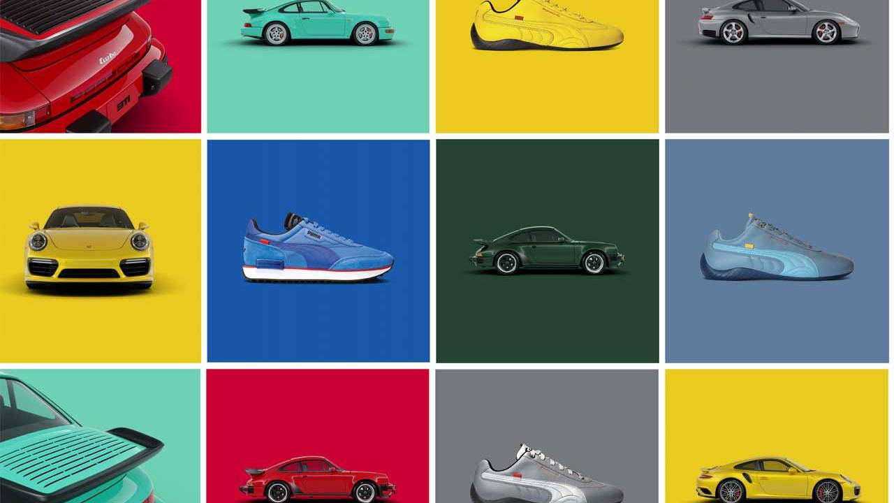 Porsche and PUMA team for shoes inspired by the 911 Turbo
