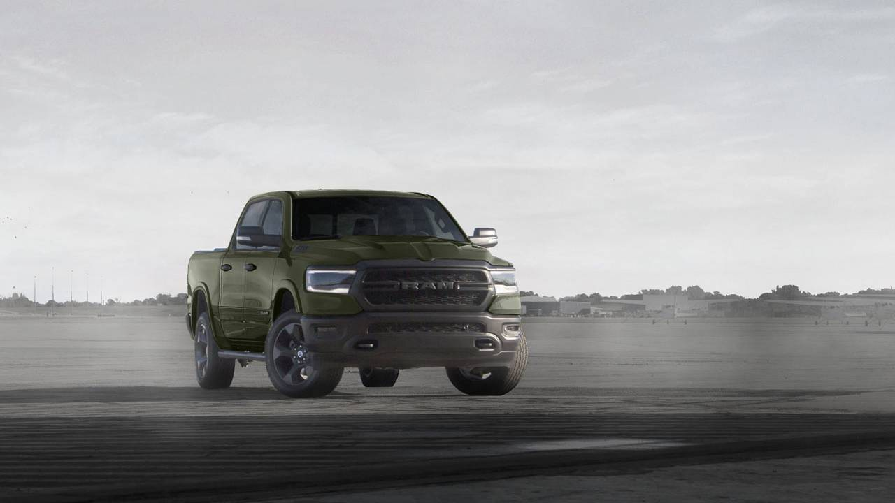 "Fourth Ram Truck ""Built to Serve Edition"" pickup lands in Q1"