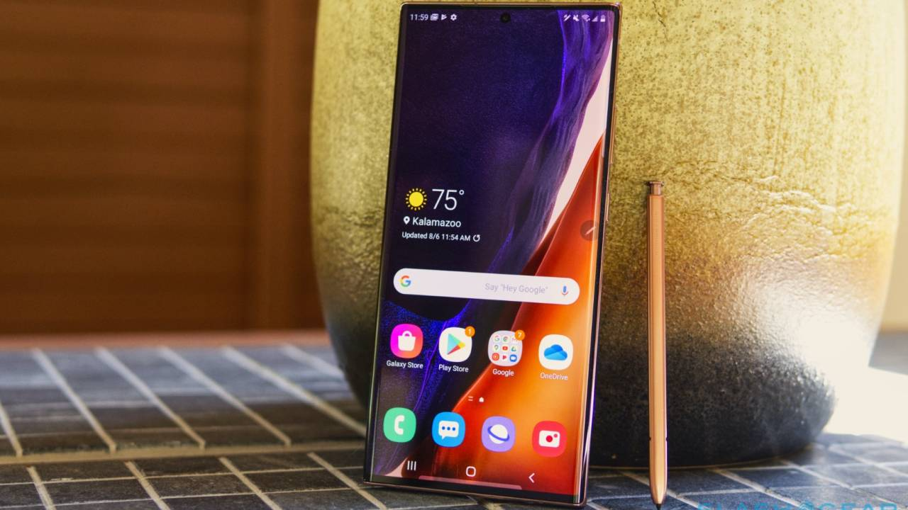 Galaxy Note 20 FE may have been accidentally confirmed by Samsung
