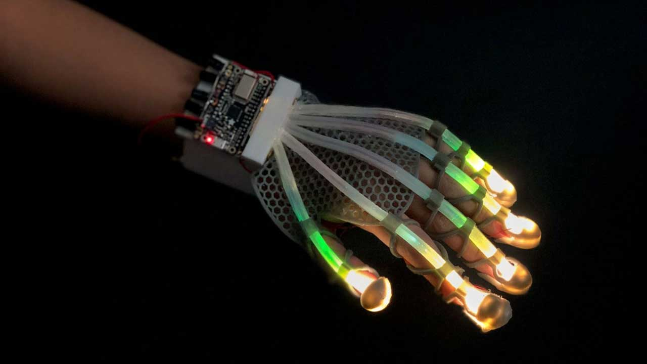 Cornell stretchable sensor could redefine soft robotics and virtual reality