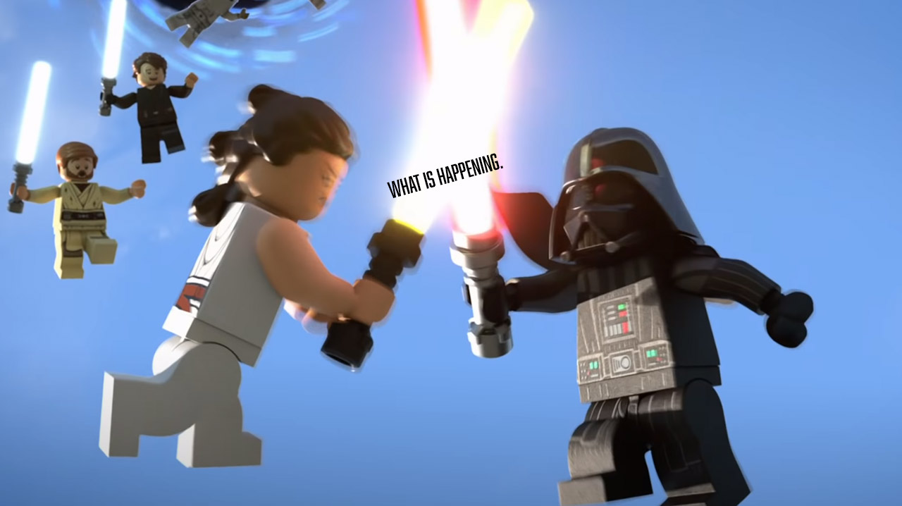 LEGO Star Wars Holiday Special is about to go HAM