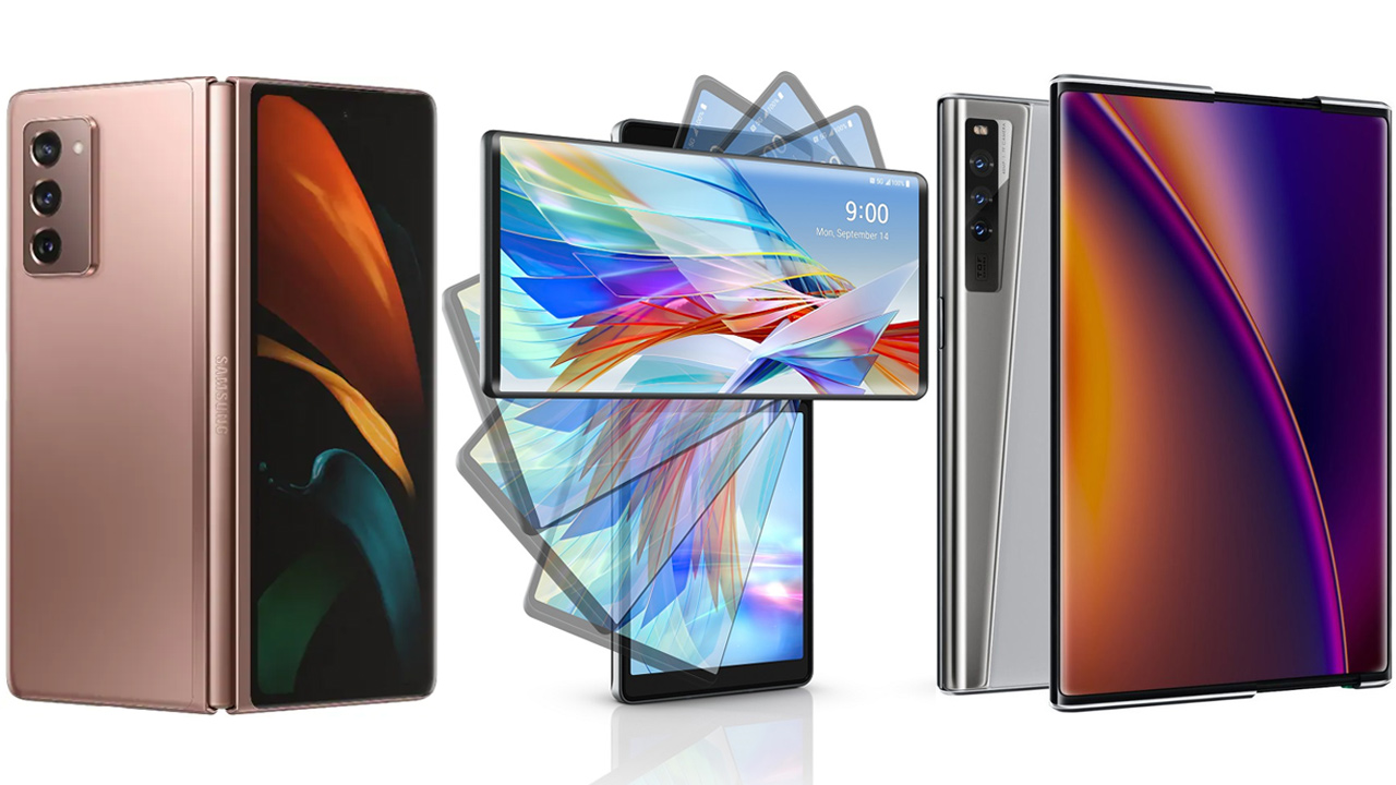 Foldable, swivel or rollable smartphone display – Which is better?