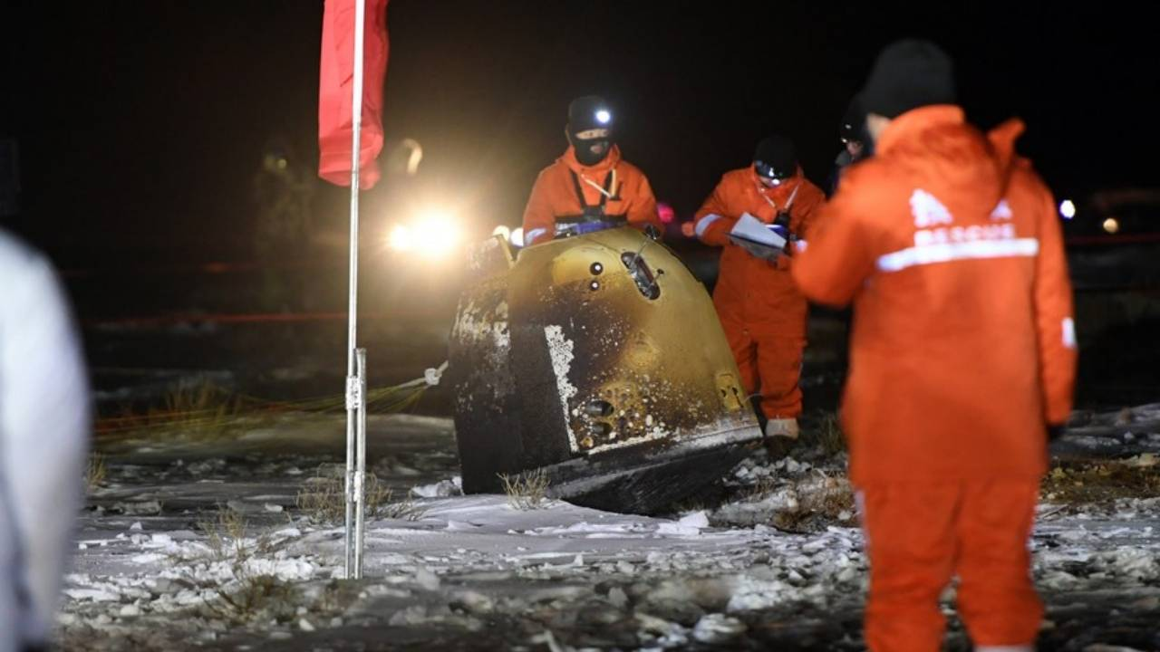 China Chang'e 5 brings home first lunar sample in 44 years