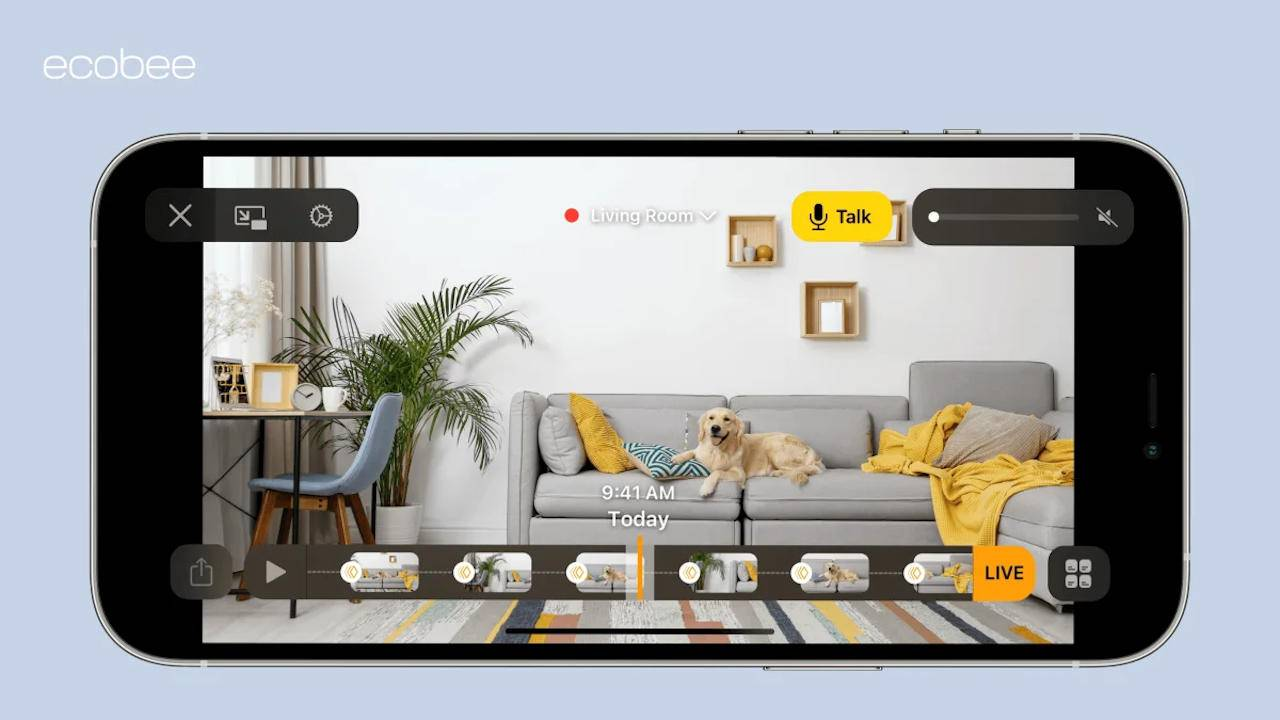 ecobee SmartCamera adds iCloud storage via HomeKit Secure Video