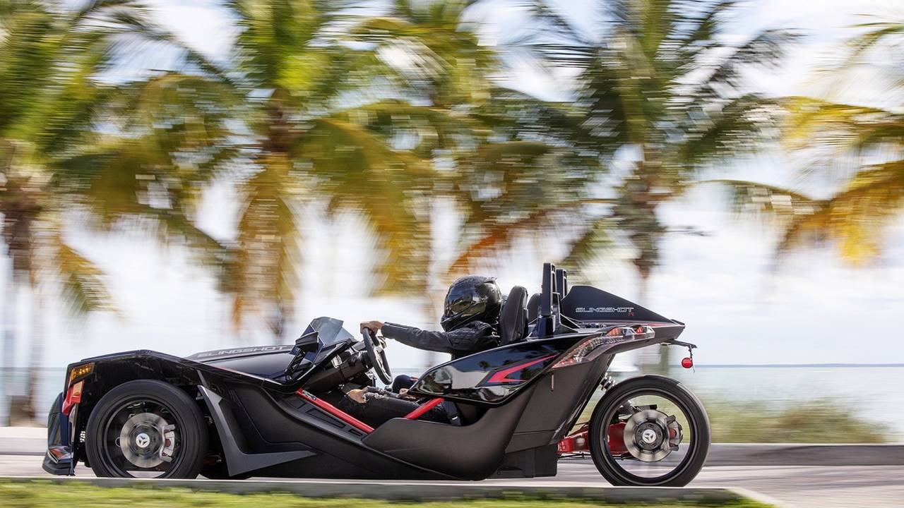 Polaris updates 2021 Slingshot with a smoother AutoDrive gearbox and more kit