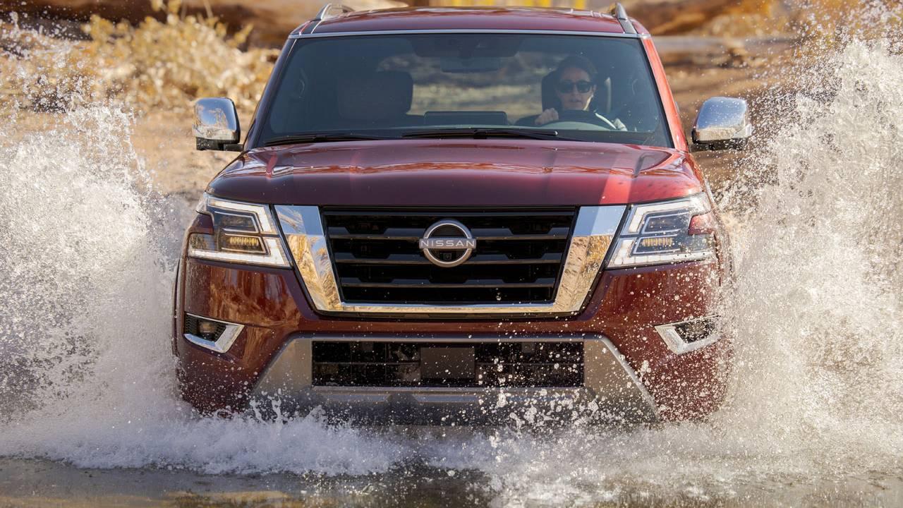Nissan unveils 2021 Armada and 2021 Kicks