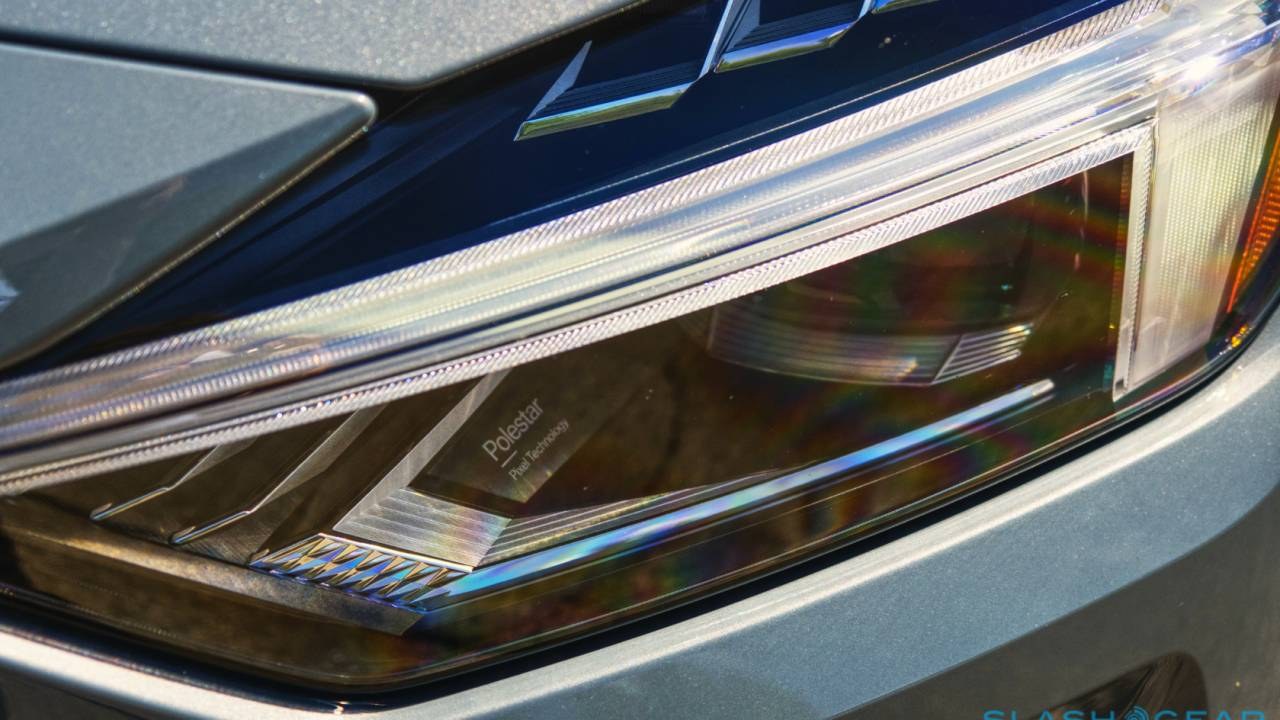 An OTA update could enable these fiendishly clever Polestar 2 headlamps
