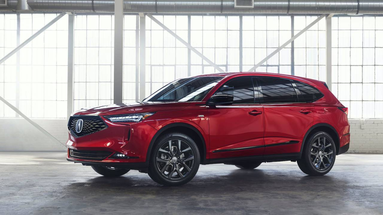 2022 Acura MDX official – Pricing and performance of 3-row SUV flagship
