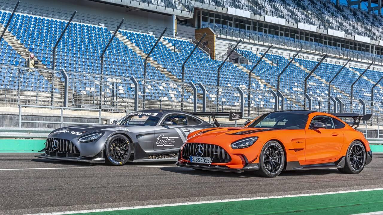 2021 Mercedes-AMG GT Black Series starts at $325,000