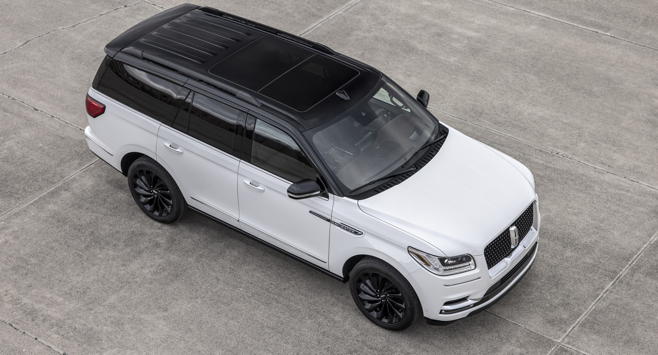 Lincoln debuts new Black Label Edition package in the 2021 Navigator SUV