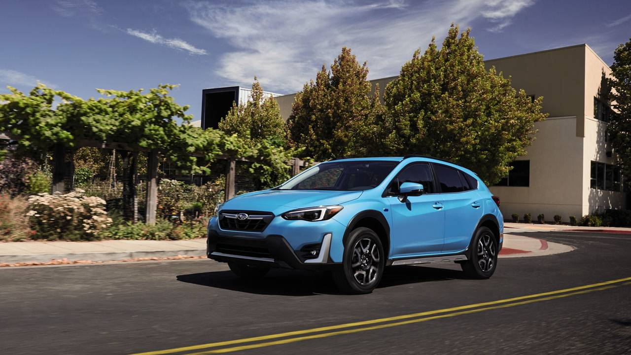 2021 Subaru Crosstrek Hybrid MSRP increases by $200