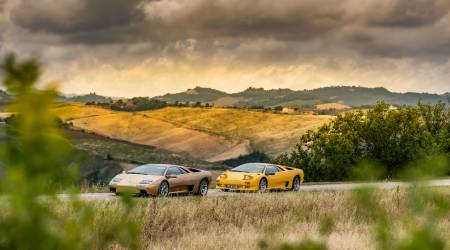 Lamborghini commemorates the 30th birthday of Diablo supercar